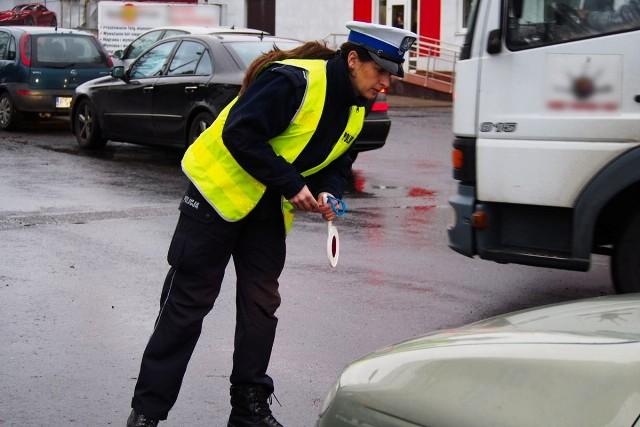 Policjanci ze Świebodzina kontrolowali samochody.