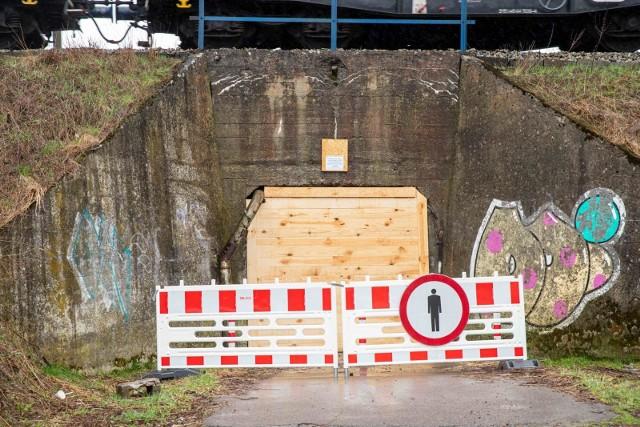 Zamknięcie tunelu z ul. Starosielce na ul. Zielonogórską to skutek remontu torów w ramach budowy Rail Baltiki