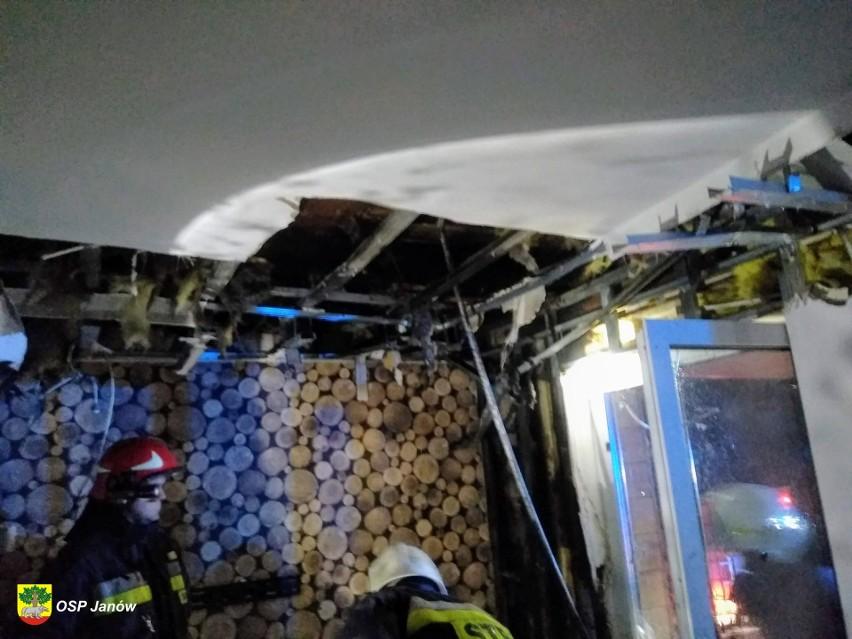 Nowokolno. Strażacy walczyli z pożarem budynku mieszkalnego [ZDJĘCIA]