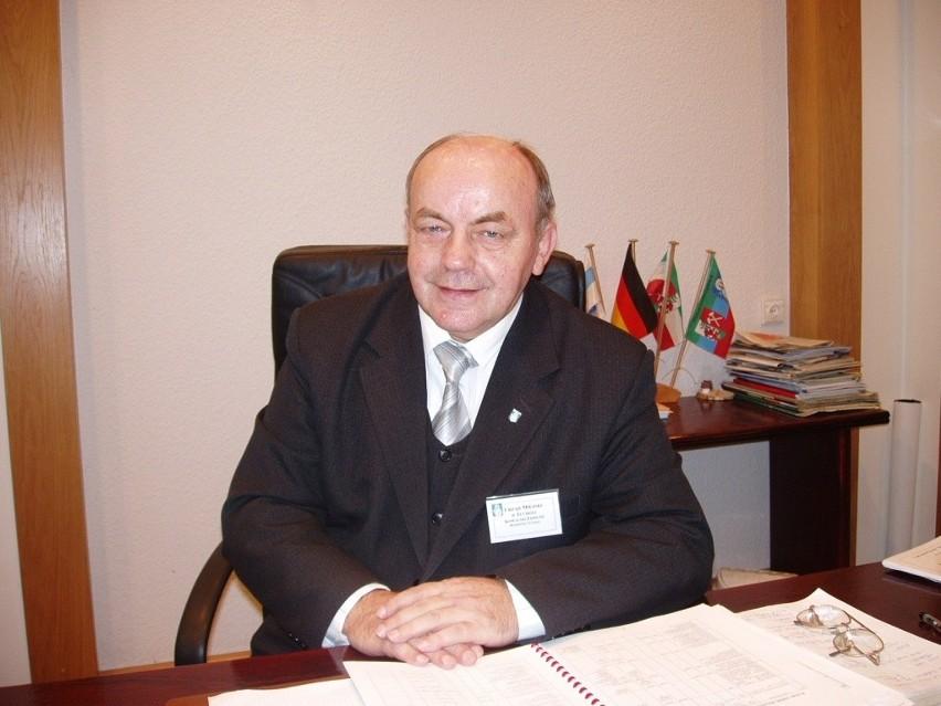 Edmund Kowalski były burmistrz Tucholi