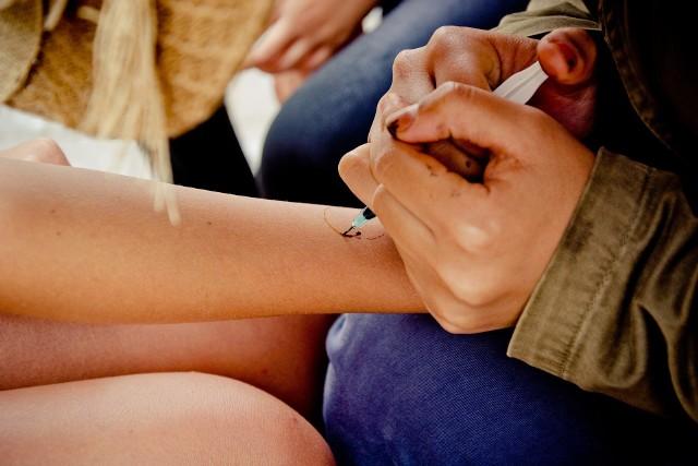Mandala jest bardzo popularnym wzorem, stosowanym jako tatuaż na ciele.