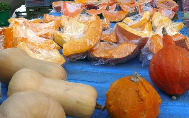 Jesienne warzywo - dynie w różnych gatunkach