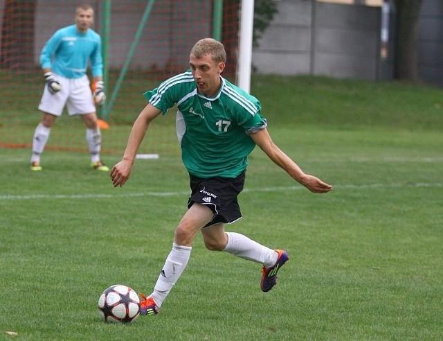Damian Polok z Victorii Chróścice.