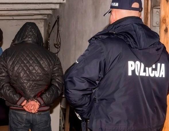 Siedlce. Posiadali broń, amunicję i 8 kg narkotyków (zdjęcia, wideo)