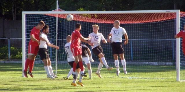 Po tym uderzeniu Bartosza Styczyńskiego, w 4 minucie meczu ze Zdrojem, Sparta Caffaro straciła gola.