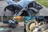 Wypadki śmiertelne w Podlaskiem. W wakacje w naszym regionie na drogach życie straciło 15 osób - MAPA WAKACJE 2020 [ZDJĘCIA]