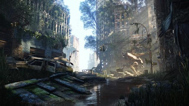 Crysis 3W Crysis 2 Nowy Jork wyglądał jeszcze w miarę standardowo. W Crysis 3 z miasta już niewiele zostało.