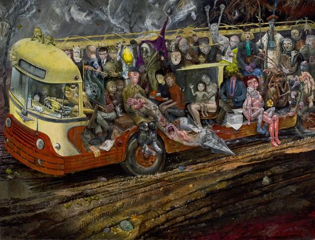 """""""Autobus"""" - najbardziej znany obraz Linkego"""