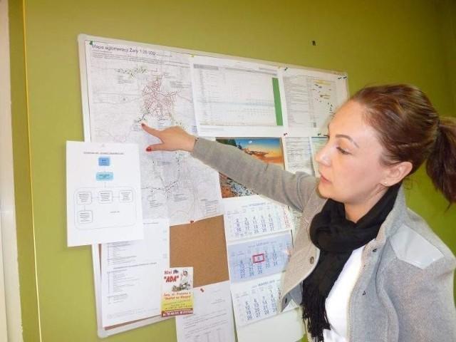 Po zakończeniu projektu będziemy mogli mówić o skanalizowaniu 92 procent aglomeracji- mówi Magdalena Dotka, kierownik Jednostki Realizującej Projekt (Lucyna Makowska)