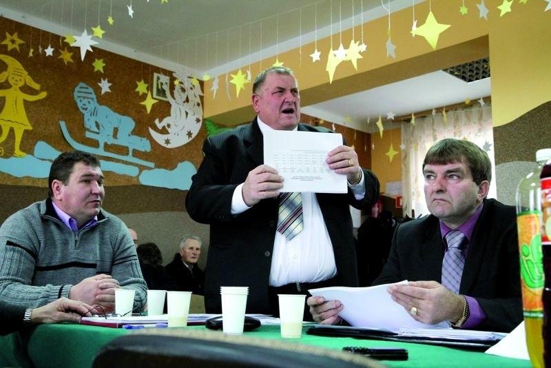 Radny Stanisław Szydłowski nie krył swego oburzenia