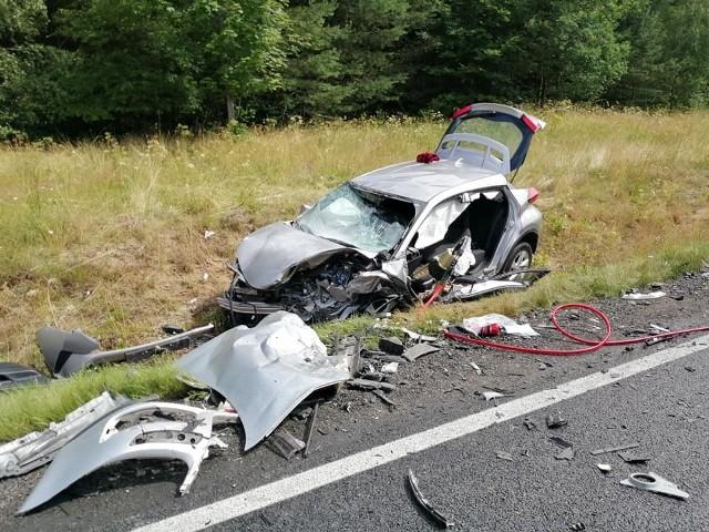 Do groźnego wypadku doszło w czwartkowe przedpołudnie na drodze krajowej nr 11.