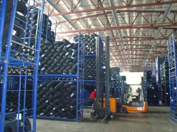 Magazyny OMEGI Pilzno mogą pomieścić 140 tys. opon
