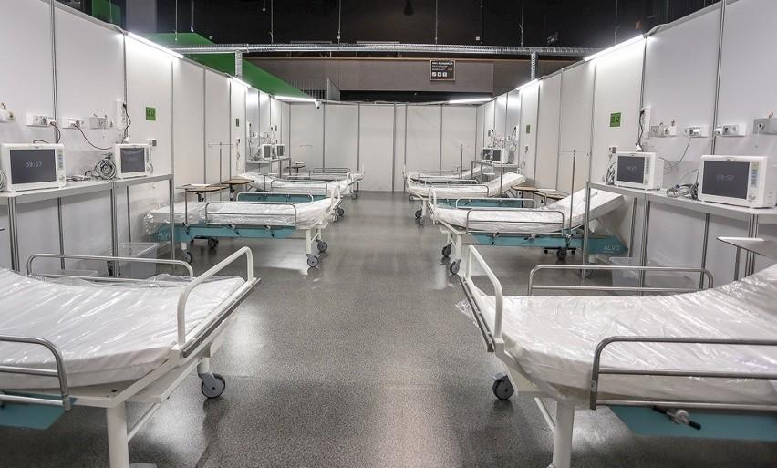 Szpital w halach Amber Expo gotowy na przyjęcie pacjentów!...