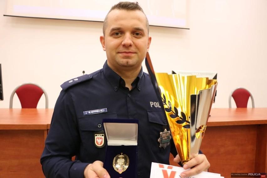 Podkomisarz Robert Stypiński najlepszym dyżurnym policji w Polsce