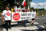 Ważą się losy Fabryki Wódek Polmos Łańcut S.A. Burmistrz, starosta i poseł Kazimierz Gołojuch starają się zapobiec wygaszeniu produkcji