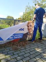 Opada już kurz po wyborach. Teraz czas na sprzątanie plakatów i banerów. Czy wszystkie muszą zostać uprzątnięte? (ZDJĘCIA)
