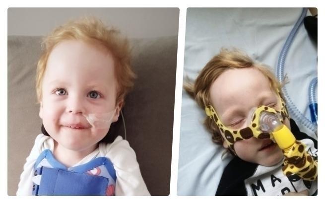 Trwa zbiórka pieniędzy na pomoc dla 3-letniego Wiktorka...