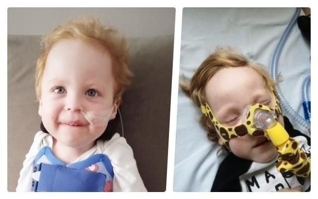 Trwa zbiórka pieniędzy na pomoc dla 3-letniego Wiktorka Szczechowiaka w walce z ciężką chorobą