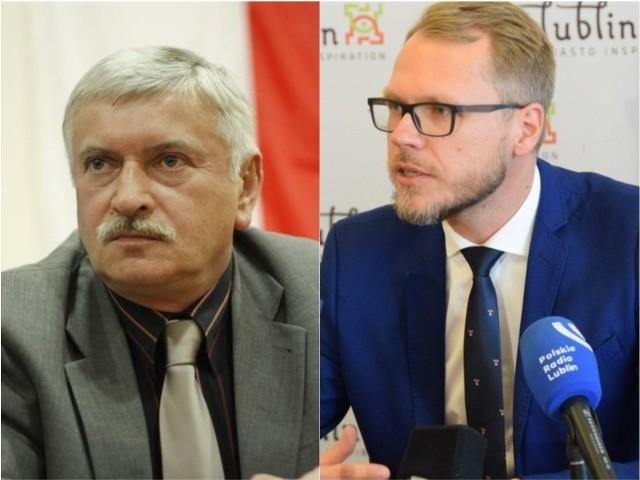 Zbigniew Targoński (z lewej) i Michał Krawczyk