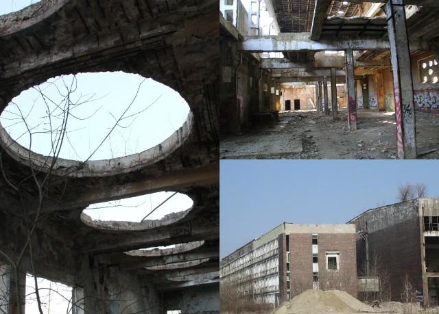 """Kopalnie i Zakłady Przetwórcze Siarki """"Siarkopol"""" przed laty były nieodłączną częścią Tarnobrzega, który przemysłowi siarkowemu zawdzięczał swój rozkwit. Na przestrzeni ostatnich dwóch dekad systematycznie znikają nieme świadectwa czasów świetności kombinatu znajdujące się w Machowie. Opustoszałe, zrujnowane hale oraz inne budynki też mają swój urok i tworzą industrialny klimat - od lat te miejsca wykorzystywane są przez miłośników paintballa, graficiarzy i jako oryginalne plenery fotograficzne czy filmowe. Niestety, nie brakuje tam również różnego rodzaju śmieci. 27 marca 2021 roku odwiedziliśmy to miejsce, zobaczcie zdjęcia w galerii. Dziś część 2. Część 1 można obejrzeć TUTAJPRZESUŃ GESTEM LUB STRZAŁKĄ >>>"""