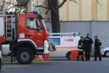 Alarm bombowy w łódzkiej firmie kurierskiej na Widzewie