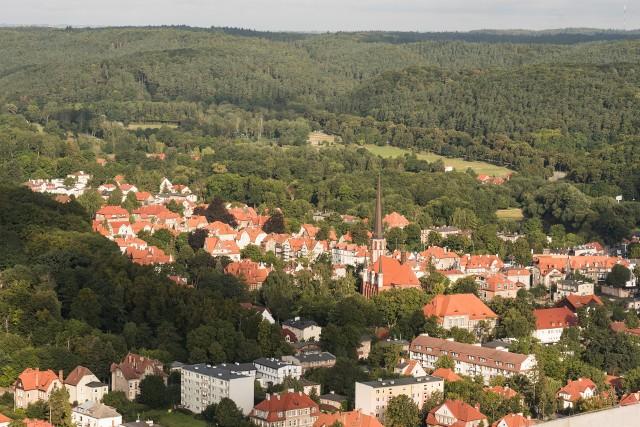 Panorama gdańskiej Oliwy