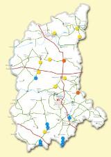 100 mln zł na lubuskie drogi w 2014 r. Zobacz, gdzie będą budowane i remontowane (mapa)