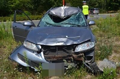Tragiczny bilans weekendu 26-29.07.2019 na drogach powiatu wyszkowskiego. Wypadek w Łosinnie