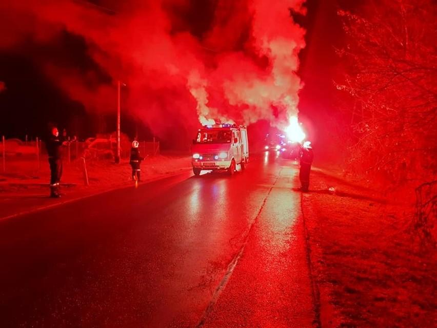 Strażacy z OSP Bydgoszczy nowy samochód otrzymali 30 grudnia...