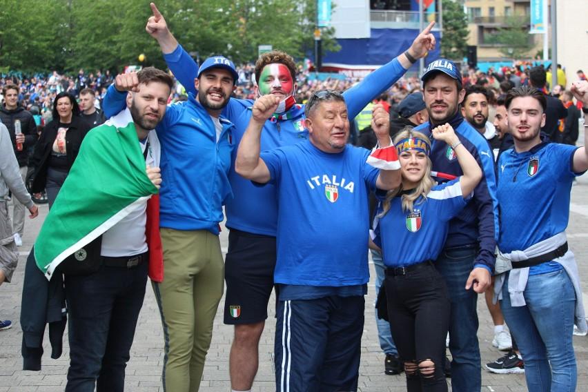 Włoscy kibice świętowali awans ich reprezentacji do finału Euro 2020. Zobacz wideo