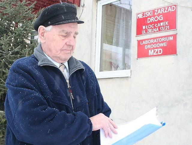 Stefan Langowski nie uzyskał wyjaśnień w MZD. Wybiera się do prezydenta.