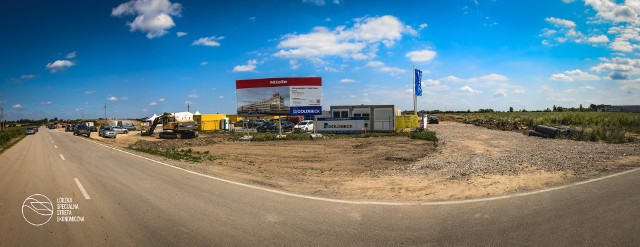 W piątek 6 maja wmurowano kamień węgielny pod budowę fabryki Miele