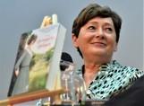 """Zofia Mąkosa – autorka trylogii """"Wendyjska winnica"""" - znów będzie podpisywała tom """"Dolina nadziei"""" w Kargowej, gdzie pisarka się urodziła"""