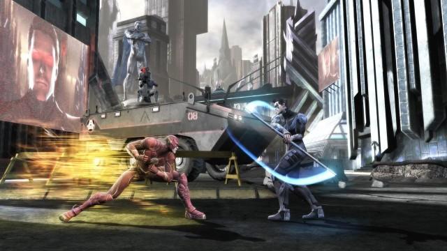 Injustice: Gods Among UsInjustice: Gods Among Us to bijatyka z superbohaterami znanymi z komiksów wydawanych przez DC Comics