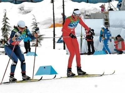 Kornelia Marek na igrzyskach w Vancouver Fot. Jerzy Cebula