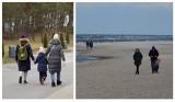 Pogorzelica w weekend. Mimo silnego wiatru przyjezdni chętnie zaglądali na plażę. Tłumów jednak nie było. ZDJĘCIA