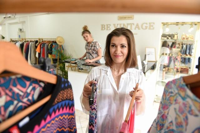 """Katarzyna Owsiak od tygodnia prowadzi w Toruniu butik Be Vintage concept store"""""""