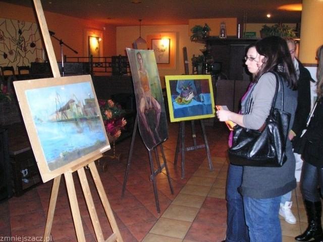 Kolejna wystawa Pauliny, Ani i Łukasza za pół roku w Goleniowie.