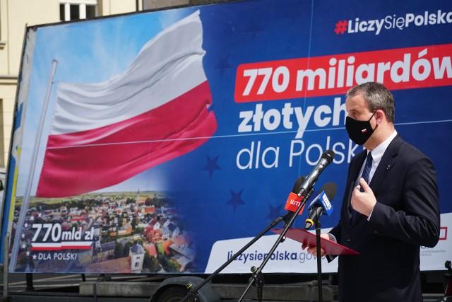 Do Wielkopolski ma trafić około 70 mld zł z unijnych środkówZobacz także:
