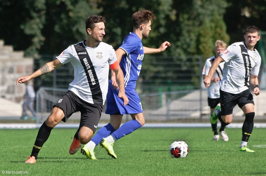 Sparta Brodnica wygrała u siebie z Pogonią Mogilno 4:0