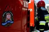 Pożar w Chałupach. Paliła się restauracja na kempingu