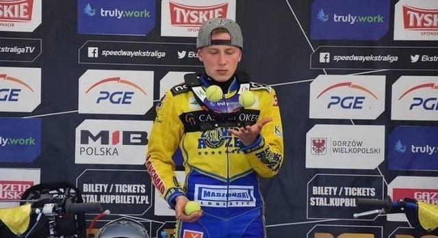 Mateusz Bartkowiak pozyskany przed tym sezonem ze Stali Gorzów, jest jednym z zakażonych zawodników