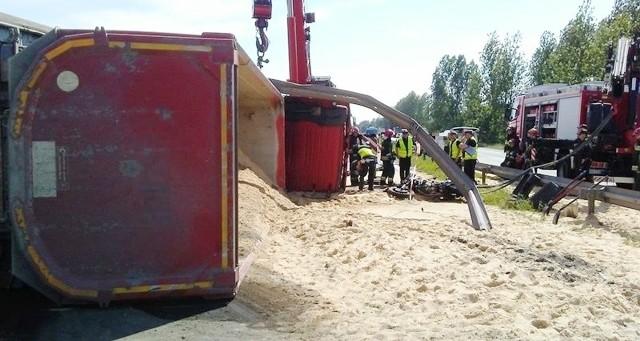Do tragicznego wypadku na trasie S1 doszło w Sosnowcu przy centrum logistycznym