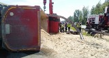 Koszmarny wypadek na S1 w Sosnowcu. Motocyklista zginął przygnieciony przez TIRa. Był szanowanym weterynarzem z Dąbrowy