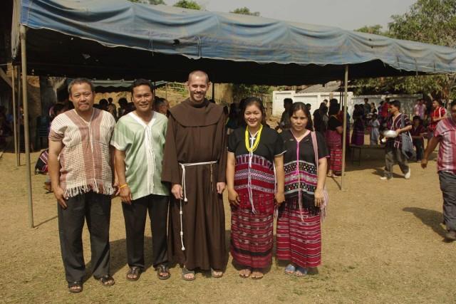 Ojciec Honorat Ćwikła przez pięć lat pracował na misjach w Tajlandii