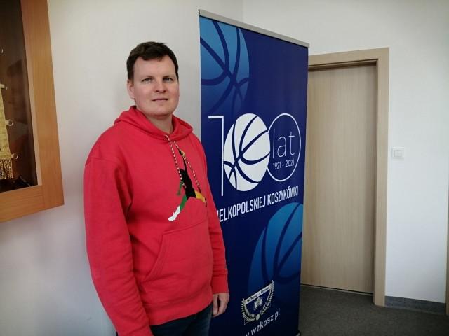 Łukasz Zarzycki jest przekonany, że WZKosz godnie uczci jubileusz 100-lecia wielkopolskiej koszykówki