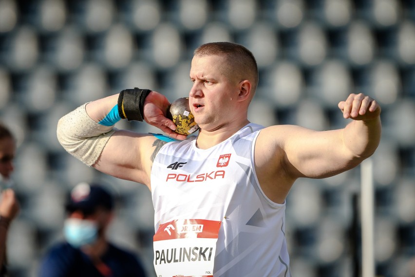 Tomasz Pauliński zdobył w rodzinnej Bydgoszczy srebrny medal...