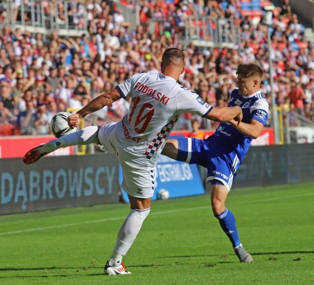 Po raz ostatni Łukasz Podolski wystąpił 7 sierpnia w meczu przeciwko Stali Mielec.