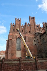 Remont kościoła św. Mikołaja w Gdańsku. Zakończono ważny etap zabezpieczania konstrukcji świątyni. Nadal można wesprzeć finansowo remont