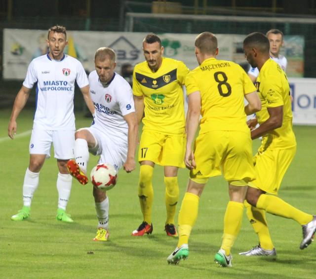 GKS Katowice przegrał z Puszcza Niepolomice